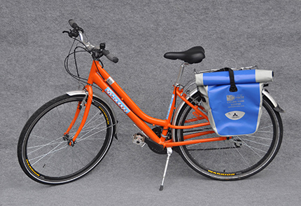 Helia standard orange rental bike