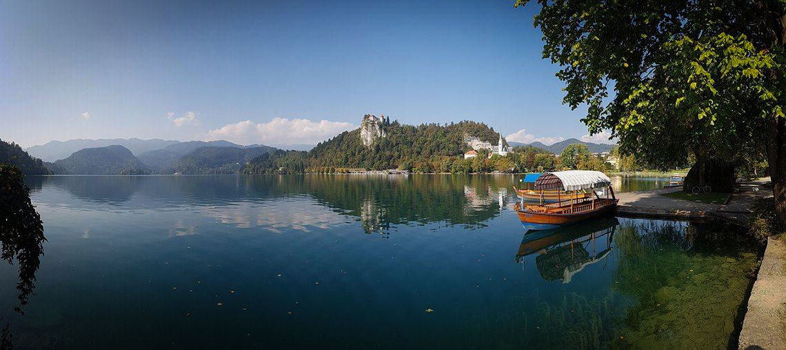 Cycling Lake Bled