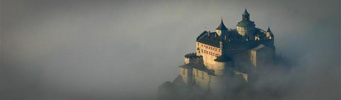 Cycling in Austria - Castle Hohenwerfen