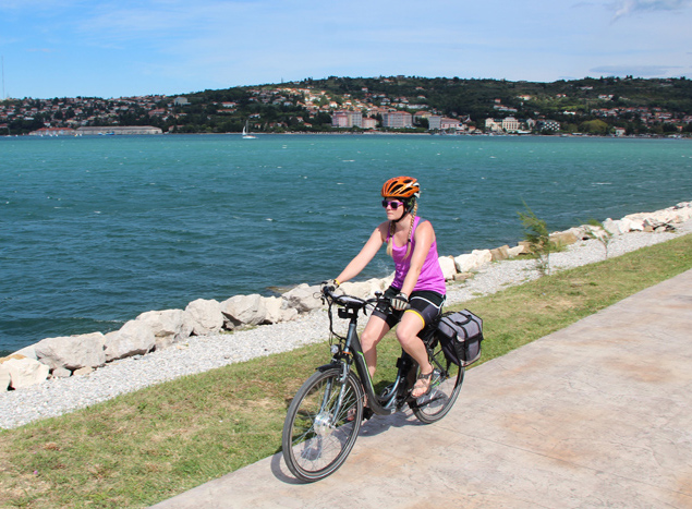 Cycling in Slovenia and Istria