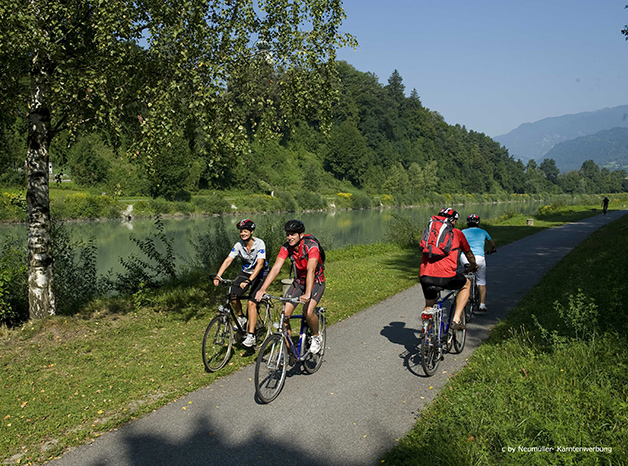 cycling from Salzburg to Lake Bled