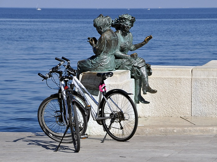 short cycling tour in Istria / Croatia