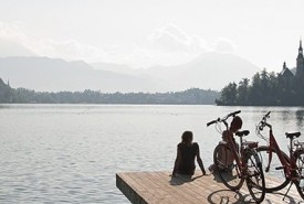 cyclingslovenia_pearls tour_bled beach